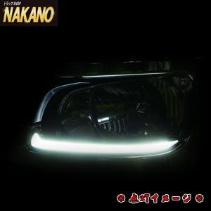 LEDヘッドライトガーニッシュR/Lセット グランドプロフィア(H15.11〜H29.4) プロフィアを新型17プロフィア風 (ホワイト白LED光)|truckshop-nakano