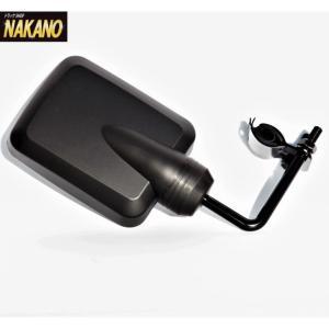 ◆条件付き送料無料◆高速&拡大ミラー 2tトラック用 バックショットミラー (456) 黒 ロングステータイプ|truckshop-nakano