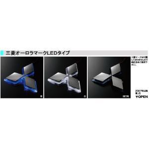 LED オーロラマーク 三菱フソー  間接照明 三菱エンブレム|truckshop-nakano