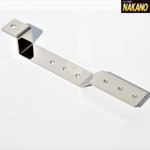 ◆条件付き送料無料◆NAKANO 極厚マーカーステー Z型2連 クランク型 折れないバスマーカー取付金具 ステンレス厚み4mm|truckshop-nakano