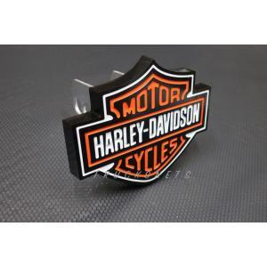 Harley-Davidson Orange Bar /& Shield Trailer Hitch Cover 2 HDHC25