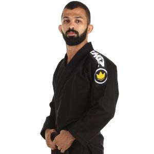 ブラジリアン柔術 (KINGZ キングズ Basic ベーシック) 黒色  A1・A2・A3 柔術着/柔術衣/道着/キングス