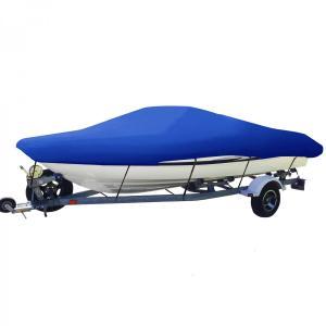 強化 420D オックスフォード生地防水素材 ボートカバー 防水 グレー色あせしない UV プロテク...