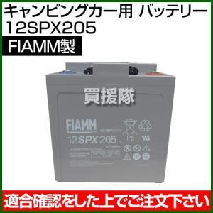 FIAMM キャンピングカー用 バッテリー 12SPX205|truetools