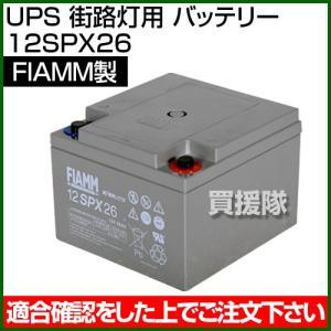 FIAMM UPS 街路灯用 バッテリー 12SPX26|truetools