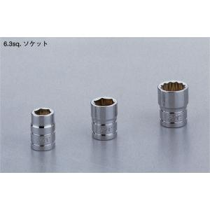 KTC工具 6.3sq.ソケット 六角 B2-12、12W|truetools
