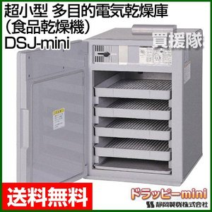 静岡製機 超小型 多目的電気乾燥庫 食品乾燥機 ドラッピーmini DSJ-mini|truetools