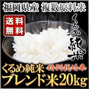 くるめ純米 ブレンド米 20kg 10kg×2袋 くるめ純米|truetools