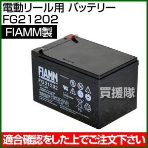 FIAMM 電動リール用 バッテリー FG21202 truetools