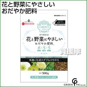 グリーン・パル 花と野菜にやさしい おだやか肥料  500g|truetools