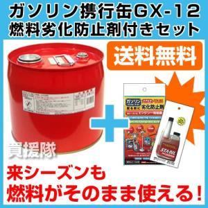 ガソリン携行缶12L 燃料劣化防止剤セット|truetools