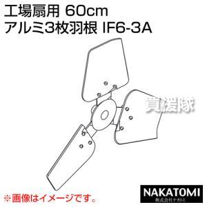 (法人限定)ナカトミ 工場扇用 60cm アルミ3枚羽根 IF6-3A|truetools