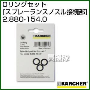 ケルヒャー 高圧洗浄機用 Oリングセット スプレーランスノズル接続部 2.880-154.0|truetools