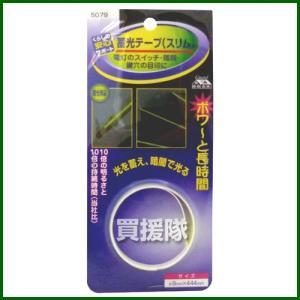 マイスト 蓄光テープ スリム 9×444mm 5079|truetools