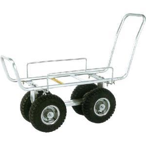 昭和ブリッジ 園芸用 アルミハウスカー 118cm、350タイヤ truetools