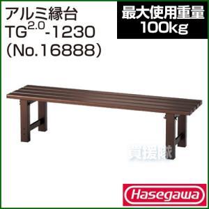 長谷川工業 アルミ縁台 TG2.0-1230 No.16888|truetools
