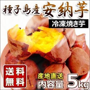 冷凍 種子島熟成安納いも 鹿児島県種子島産サツマイモ 冷凍焼き芋 5kg 1kg×5袋 TGF-005 truetools