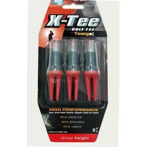 ティーゴ X-Tee 標準ドライバー 赤|truetools