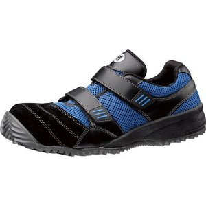 (期間限定 ポイント10倍)ミドリ安全 屈曲作業向け先芯入作業靴 TS-115ブラック/ブル- 23.5cm TS-115-BK/BL-23.5