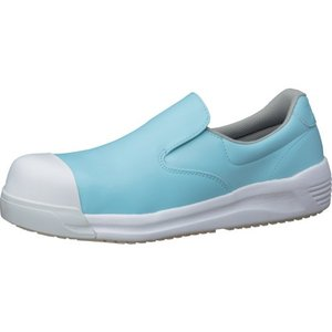 (期間限定 ポイント10倍)ミドリ安全 超耐滑先芯入り作業靴 HS-600CAP ブルー 23.5cm HS-600CAP-BL_23.5