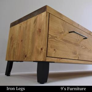 《Iron Option》木脚を独立アイアン脚に変更できます。鉄脚 手作り ハンドメイド 溶接 土台 Lアングル加工 アイアン スチール|trunk-furniture