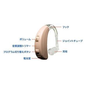 ベルトーン 耳かけタイプ デジタル補聴器 turn(ターン) BTE 75 ベージュ (中度から高度難聴者向け耳かけ式既製デジタル補聴器) trust-trade
