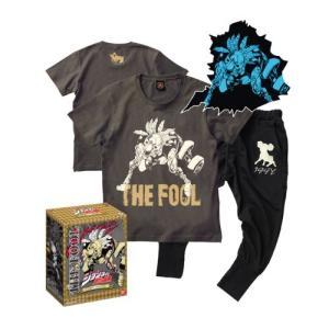 [ジョジョの奇妙な冒険]Tシャツ&スウェットパンツ ザ・フール【Sサイズ】