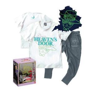 [ジョジョの奇妙な冒険]Tシャツ&スウェットパンツ ヘブンズドアー【Lサイズ】特製BOX入り