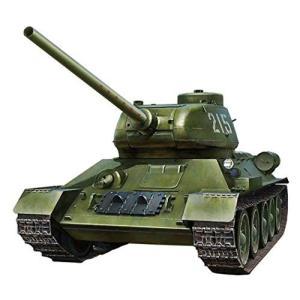 ブロンコモデル 1/32 ソ連軍 T-34/85中戦車 朝鮮戦争人民英雄215号車 プラモデル CB...