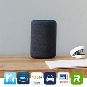 Echo Plus (エコープラス)  第2世代、サンドストーン + Philips Hue ホワイ...