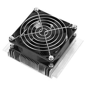xuuyuu 半導体冷凍 半導体冷却システム 半導体冷凍クーラー DIY冷蔵庫クーラー 空気冷却装置 熱電ペルチェ 冷却ユニット DC 12V 6A|trust-trade