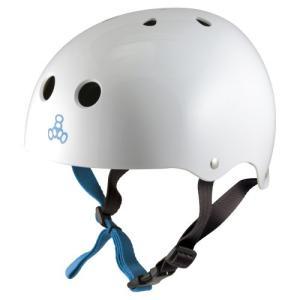 WHITE GLOSSY HELMET ホワイトグロッシーヘルメット|trusty21