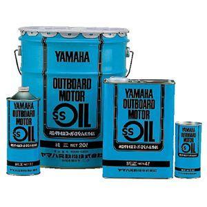 ヤマハ 船外機 オイル SSオイル 青缶 4L 2サイクル 2ストローク ヤマハ 純正 分離・混合用 YAMAHA マリンオイル|trusty21