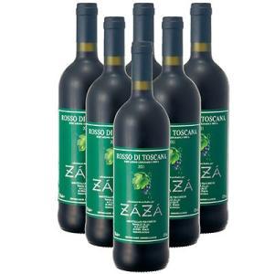 イタリア お土産 ギフト プレゼント フィレンツェ ザザ 赤ワイン 6本 酒 果実酒類 果実酒 ID:80650822