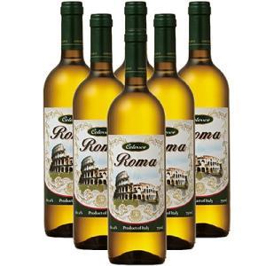 イタリア お土産 ギフト プレゼント ローマ メモリアル 白ワイン 6本 酒 果実酒類 果実酒 ID:80650826