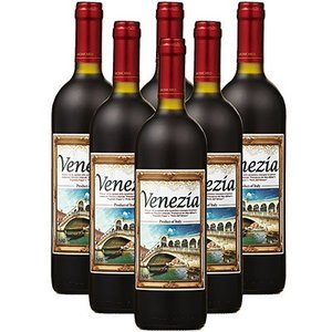 イタリア お土産 ギフト プレゼント ベネチア メモリアル 赤ワイン 6本 酒 果実酒類 果実酒 ID:80650825
