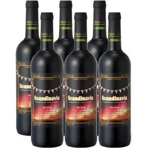 スカンジナビア お土産 ギフト プレゼント スカンジナビア 赤ワイン 6本 酒 果実酒類 果実酒 ID:80652134