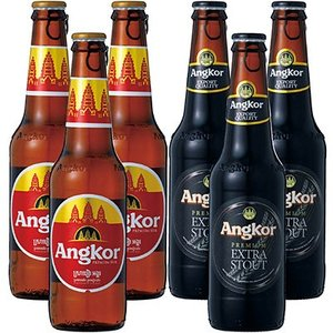 6%OFFクーポン カンボジア お土産 ギフト アンコールビール 2種6本セット 酒 ビール ビール ID:80651681|trv