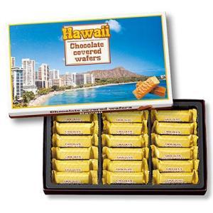 ハワイ お土産 ハワイ チョコウエハース 1箱 (ハワイ 土産 お土産 おみやげ) ID:E7050851