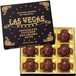 アメリカ お土産 ラスベガス ミニマカデミアナッツチョコレート 1箱 ID:E7050630