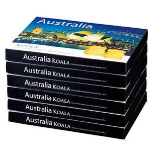 オーストラリア お土産 オーストラリア コアラマカデミアナッツクッキー 6箱セット ID:E7051040|trv