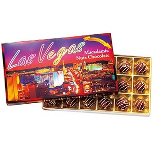 アメリカ お土産 ラスベガス マカデミアナッツチョコレート 1箱 ID:E7050624