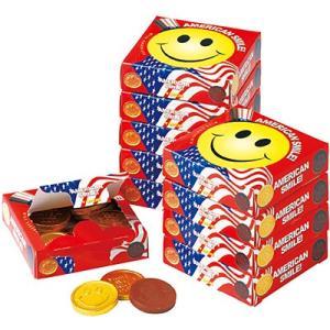 アメリカ お土産 アメリカン スマイルチョコレート 10箱セット ID:E7050661 trv