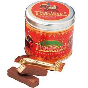タイ お土産 土産 みやげ おみやげ / エレファント チョコウエハース 1缶  かわいい象のイラス...