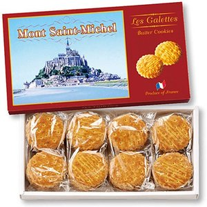 6%OFFクーポン フランス お土産 ギフト モンサンミッシェル ガレットクッキー 1箱 食品 菓子 スイーツ クッキー ビスケットID:80653433