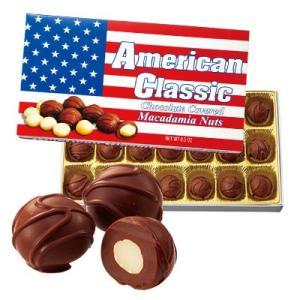 アメリカ お土産 アメリカンクラシック マカデミアナッツチョコレート 1箱 食品 菓子 チョコレート ナッツ ID:77720007