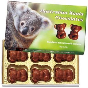 オーストラリア お土産 コアラ マカデミアナッツチョコレートミニ 1箱 ID:E7051038|trv