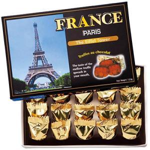 フランス お土産 フランス チョコトリュフ(袋付) 1箱 ID:E7050141