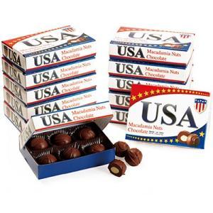 アメリカ お土産 アメリカミニマカデミアナッツチョコレート 12箱セット ID:E7050559 trv