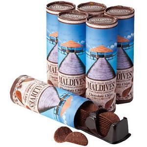 【ポイント10倍】モルディブ お土産 モルディブ チョコチップス6個(チョコクリスプ チョコレートチップス お菓子 外国チョコレート) ID:E7051819